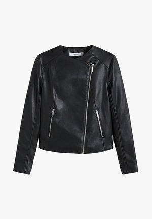 MARCMOTO - Faux leather jacket - schwarz