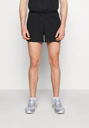 FLEX - Pantalón corto de deporte - black/silver