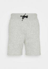 Pier One - 3 PACK - Shorts - black/mottled light grey/dark blue - 3