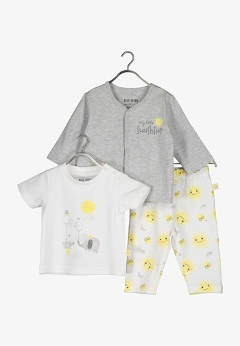 LITTLE SUNSHINE - Trousers - nebel