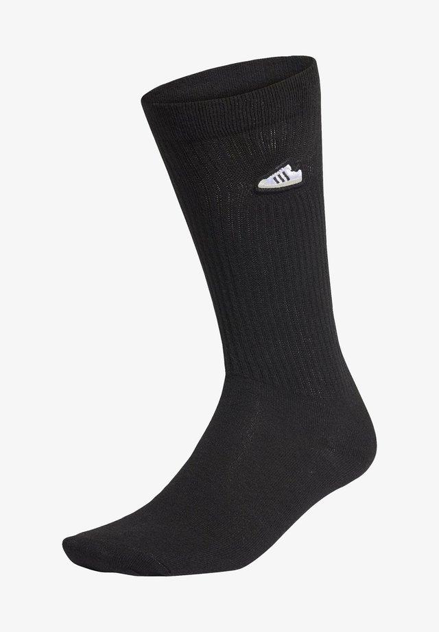 SUPER SOCKS - Sports socks - black