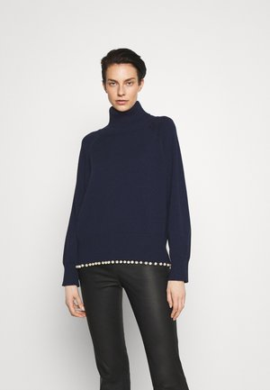 CLEMMIE TURTLE NECK - Neule - navy