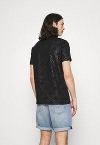 Glorious Gangsta - MINOS TEE - T-shirt imprimé - jet black/gold - 2