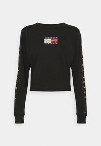 Tommy Jeans - VINTAGE - Long sleeved top - black - 4