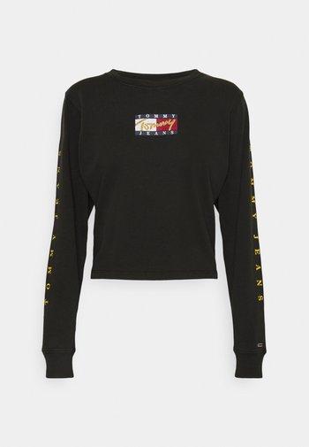 VINTAGE - Maglietta a manica lunga - black