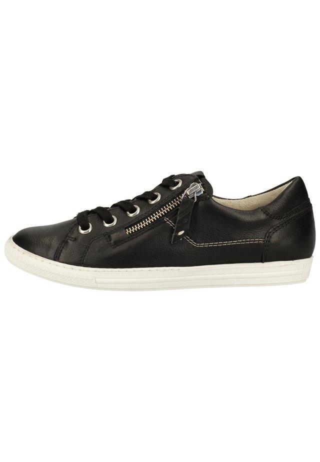 Sneakers laag - schwarz 27