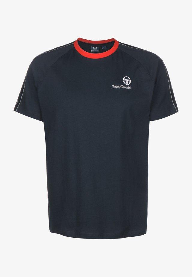 FIGARO - T-shirt med print - 207 navy/vintage red