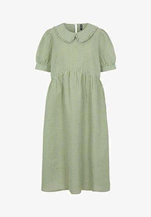 Korte jurk - green, white