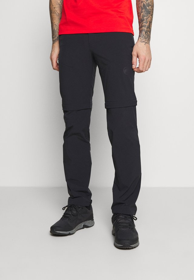RUNBOLD ZIP OFF PANTS MEN - Pantalones - black
