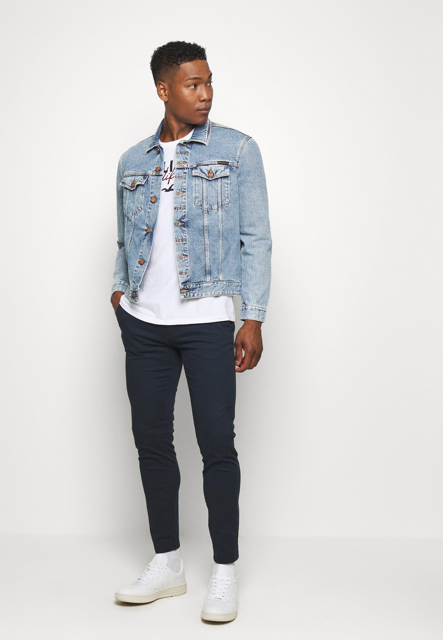 Burton Menswear London Jeansshorts - blue