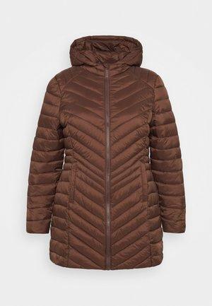 LIGHTWEIGHT PADDED MID JACKET - Krátký kabát - chocolate
