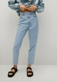 Mango - MOM90 - Jeans Tapered Fit - lichtblauw - 0