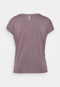 Deha - KNOT - Print T-shirt - purple gray