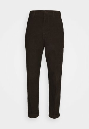 DAREN - Trousers - winter brown