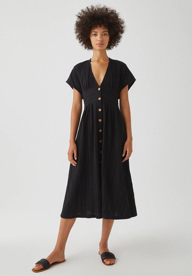 TEXTUR - Robe d'été - black