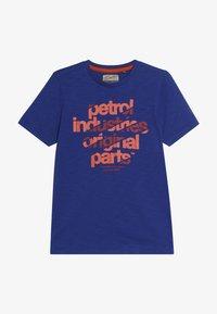 Petrol Industries - Triko spotiskem - light capri - 3