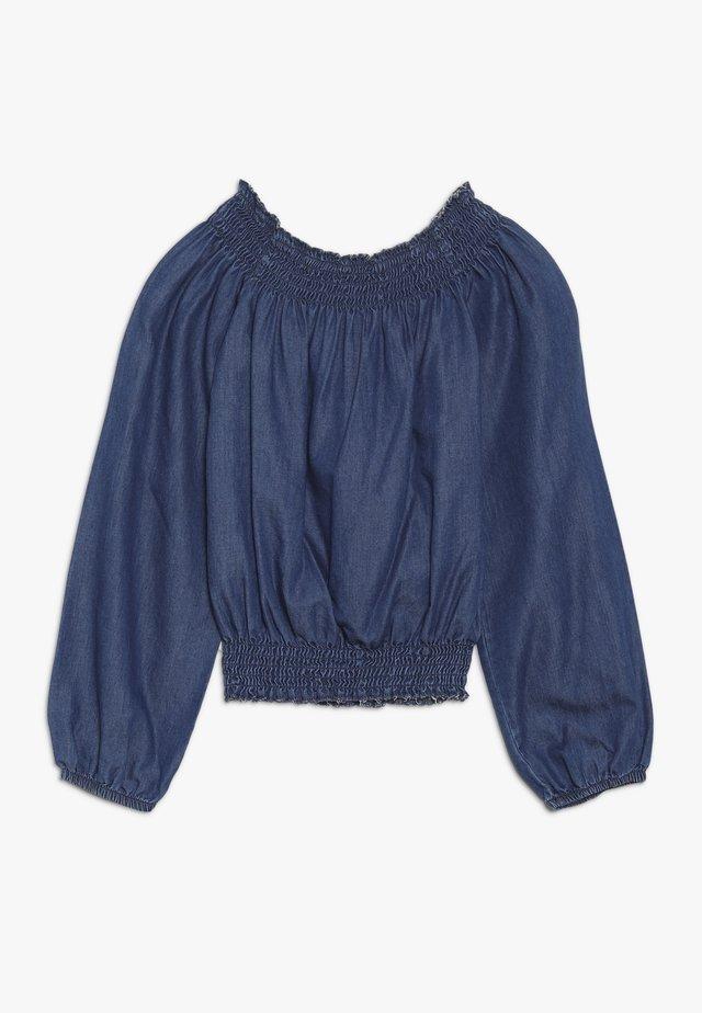 GIRLS CARMEN - Blouse - medium blue