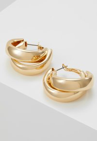 Topshop - CHUNK LAYER HOOP - Pendientes - gold-coloured - 4