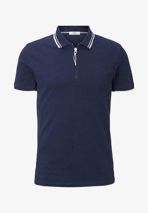 Polo shirt - black iris blue