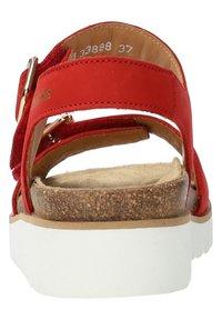 Mobils Ergonomic - Walking sandals - scarlet - 5