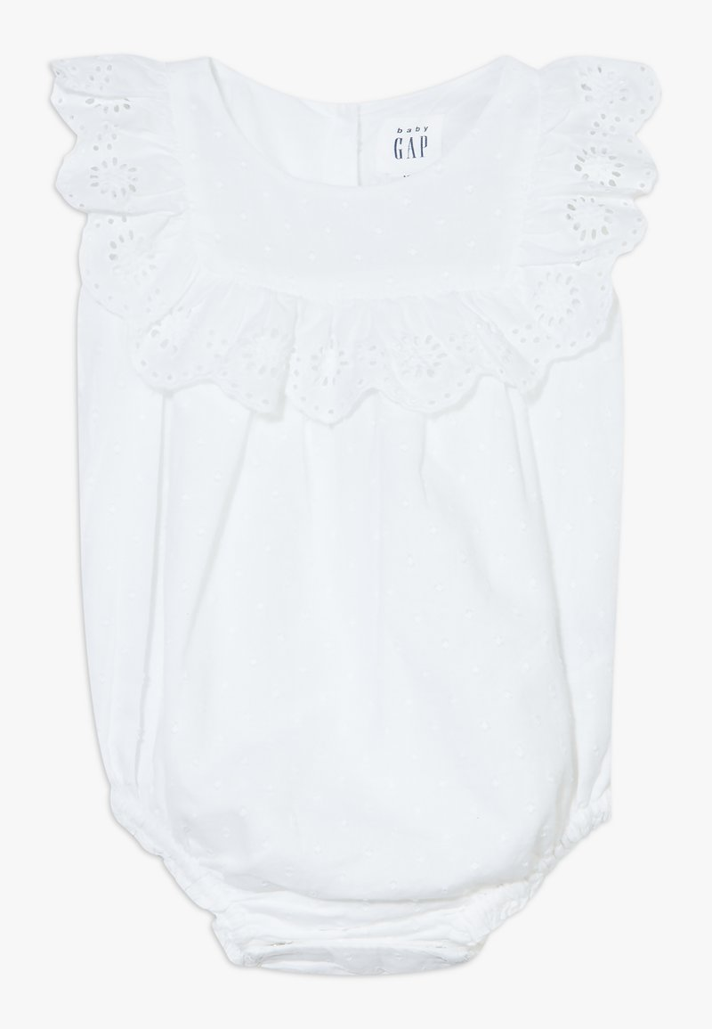 GAP - EYELET - Blusa - optic white