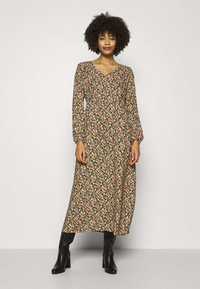 MIDI DRESS PRINTED - Korte jurk - multi-coloured