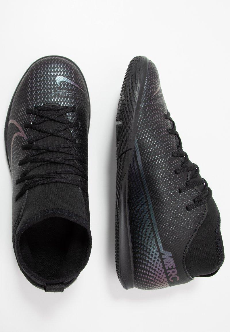 Nike Performance - MERCURIAL 7 CLUB IC - Indoor football boots - black