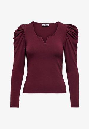 ONLDREAM - Long sleeved top - zinfandel
