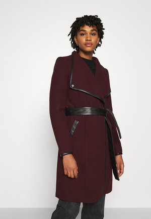 VMWATERFALL CLASS - Classic coat - port royale/black