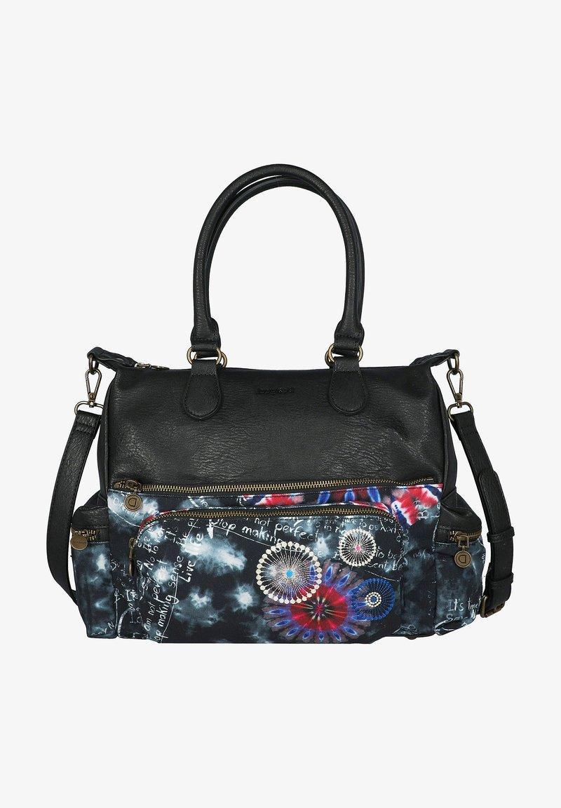 Desigual - BLACK PAPER - Handbag - black