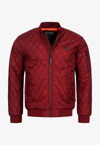 INDICODE JEANS - NOVAK - Light jacket - bordeaux - 8