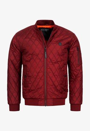 NOVAK - Light jacket - bordeaux
