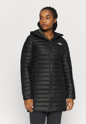 W STRETCH DOWN PARKA - Down coat - black