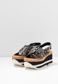 Replay - MYERS - Platform sandals - grey - 4