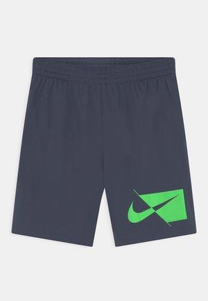 PLUS - Sports shorts - thunder blue/green strike