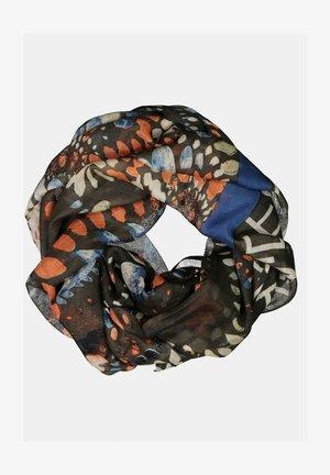Sjaal - pfauenblau
