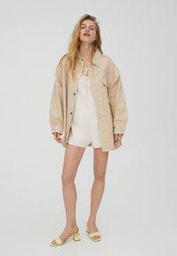 PULL&BEAR - Summer jacket - beige - 1