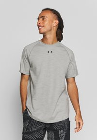 Under Armour - CHARGED - T-shirts basic - gravity green/black - 0