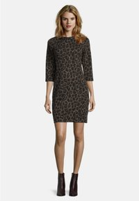 Betty Barclay - MIT 3/4 ARM - Jersey dress - black/taupe - 0