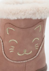 Friboo - BOOTIES - Korte laarzen - pink - 5