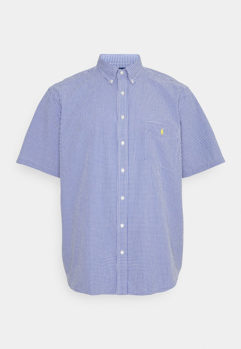 Polo Ralph Lauren Big & Tall - SEERSUCKER - Shirt - blue/white