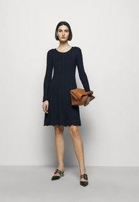 M Missoni - ABITO - Gebreide jurk - dark blue - 1