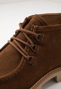 Belstaff - MACCLESFIELD  - Lace-up ankle boots - bracken - 5