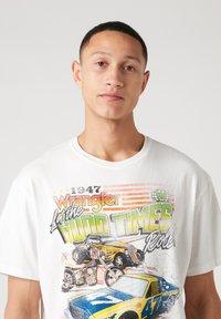 Wrangler - T-shirt imprimé - off white - 3