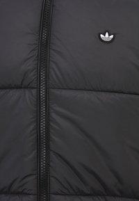 adidas Originals - PADDED STAND PUFF ORIGINALS WINTER JACKET FILLED THIN - Winter jacket - black - 2
