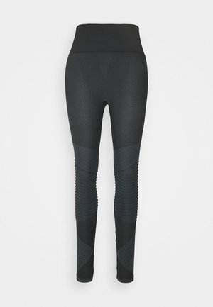 LOOK AT ME NOW SEAMLESS MOTO - Legíny - very black