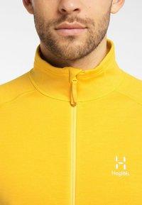 Haglöfs - HERON  - Fleece jacket - pumpkin yellow - 3