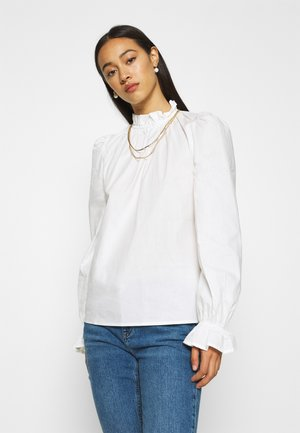 FLICKA BLOUSE  - Bluser - optical white