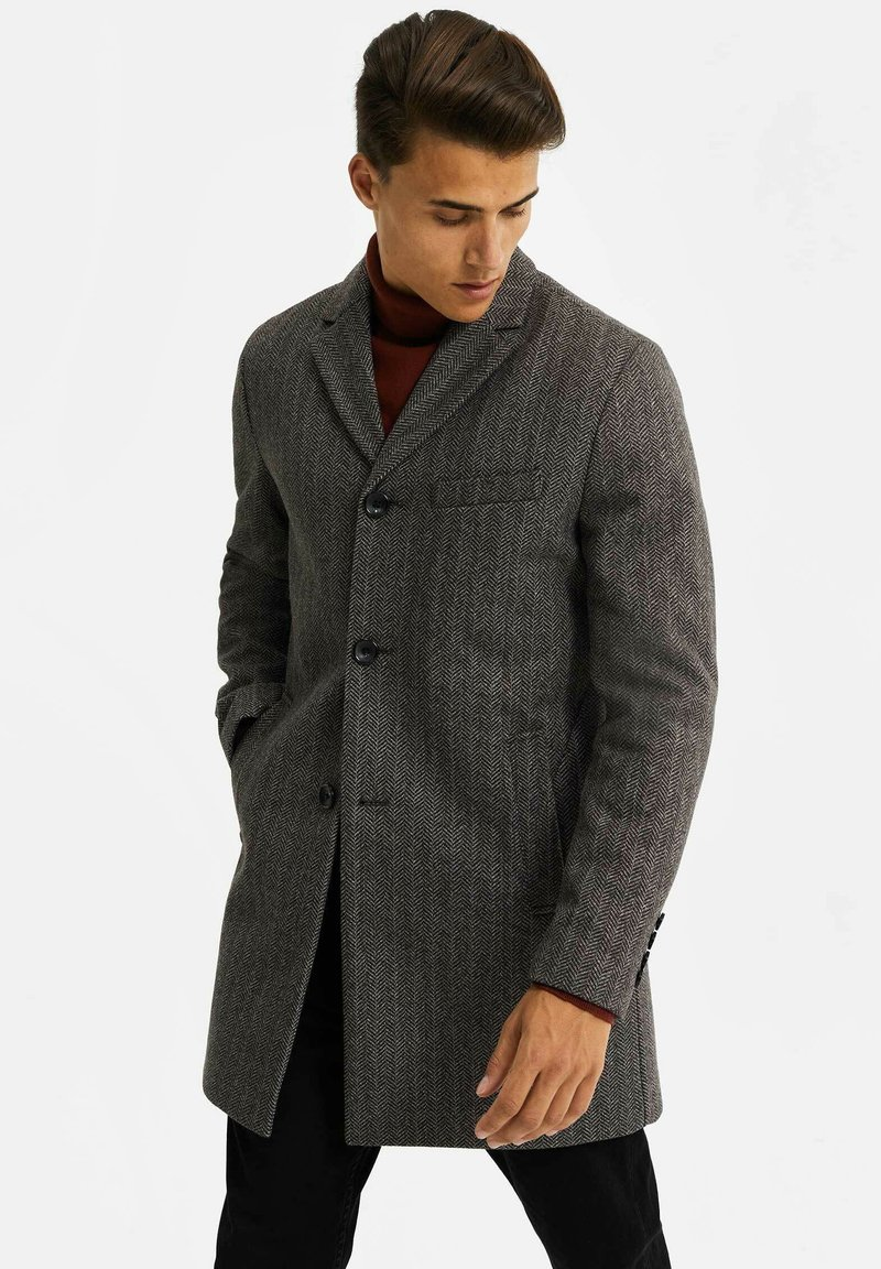 WE Fashion - MANTEL - Classic coat - blended dark grey