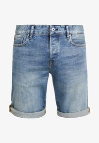 GOODIE - Jeans Shorts - lieght blue denim